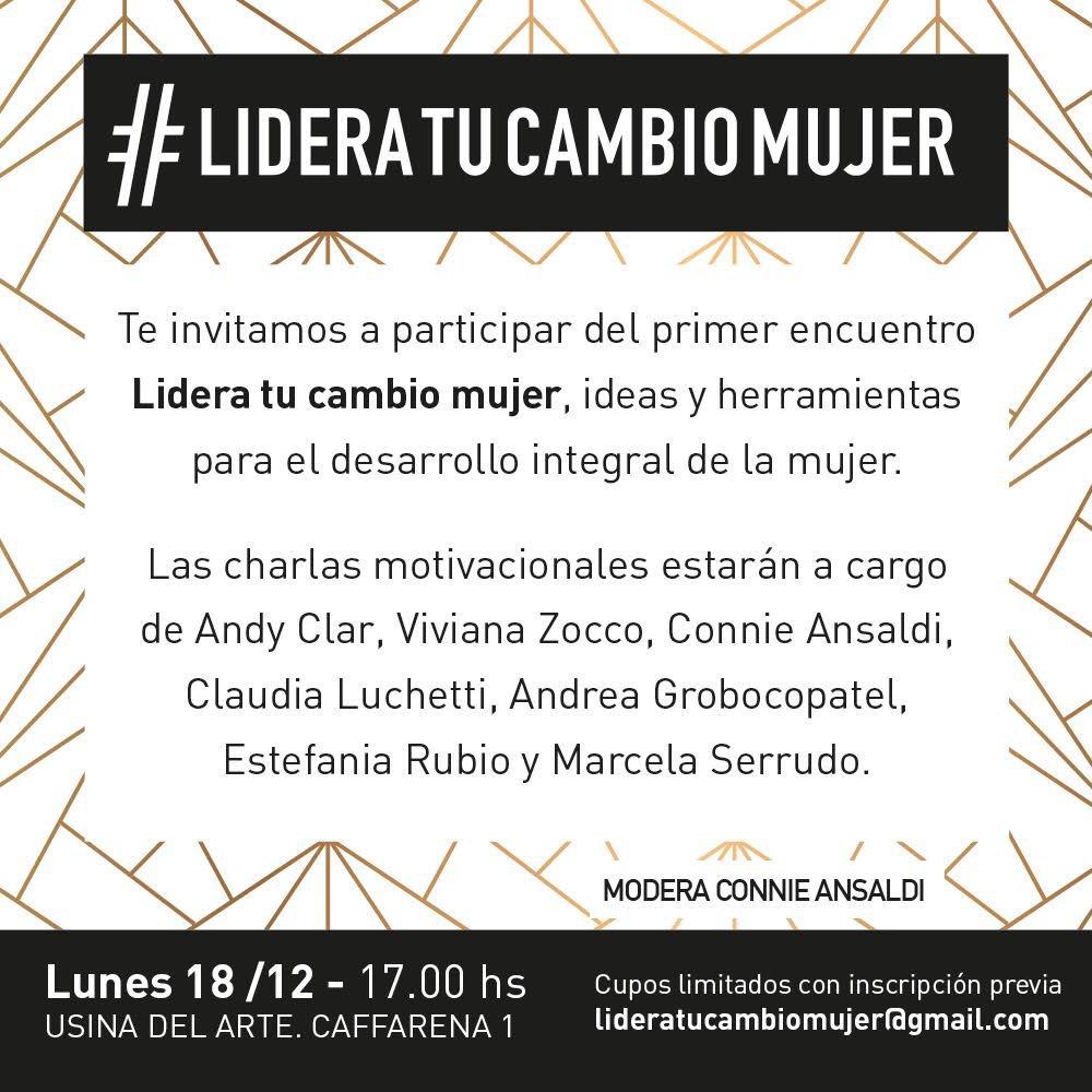 Inscribiste Mujeres Líderes Inspiran Cuentan Historias