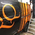 The new TORQ cruiser is getting its #RacingStripes today!