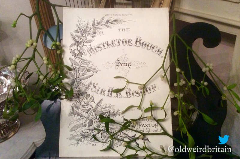 Lovely #FolkloreThursday peeps: Here&#39;s my copy of &#39;The Mistletoe Bride&#39; - an old song about a #bride who plays hide and seek on her wedding day. She disappears; she is never seen again. Decades later, a mouldering skeleton in a wedding dress is found in an ancient coffer.... <br>http://pic.twitter.com/PxUbs3gHyM