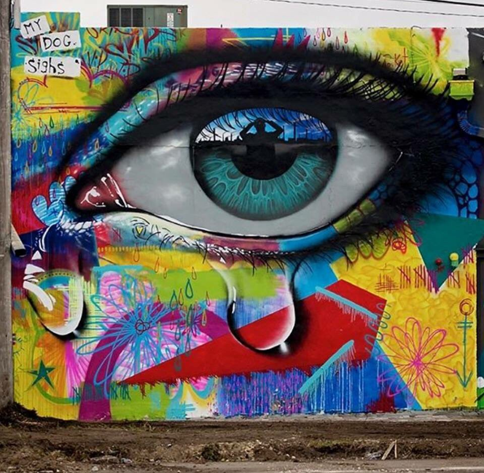 My Dog Sighs in Miami (photo by John D) #Street Art #MyDogSighs #Miami <br>http://pic.twitter.com/VeBcibSUDO