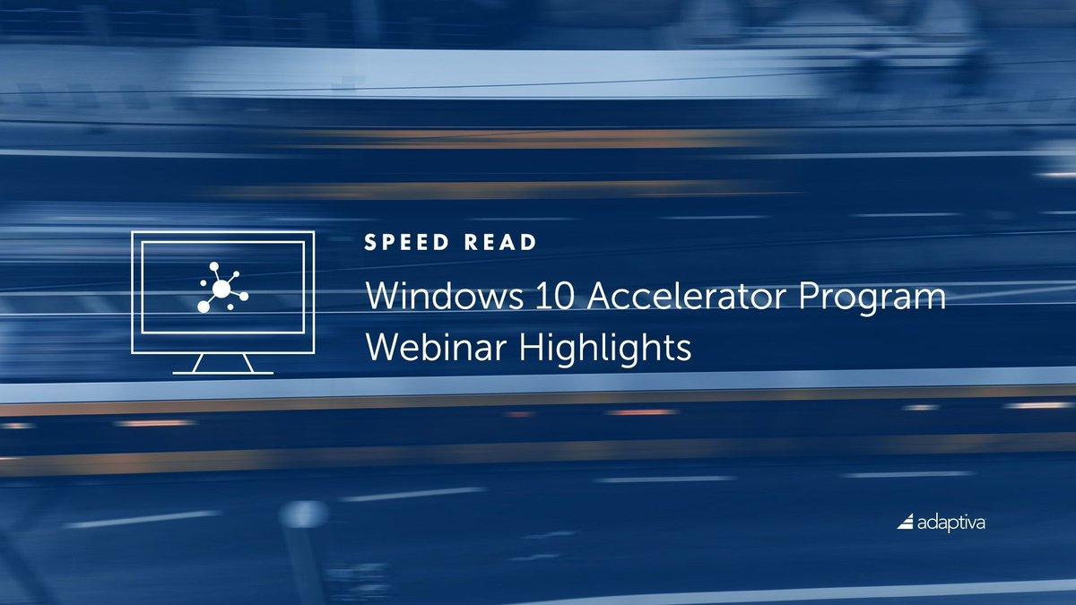 Accelerator windows 10