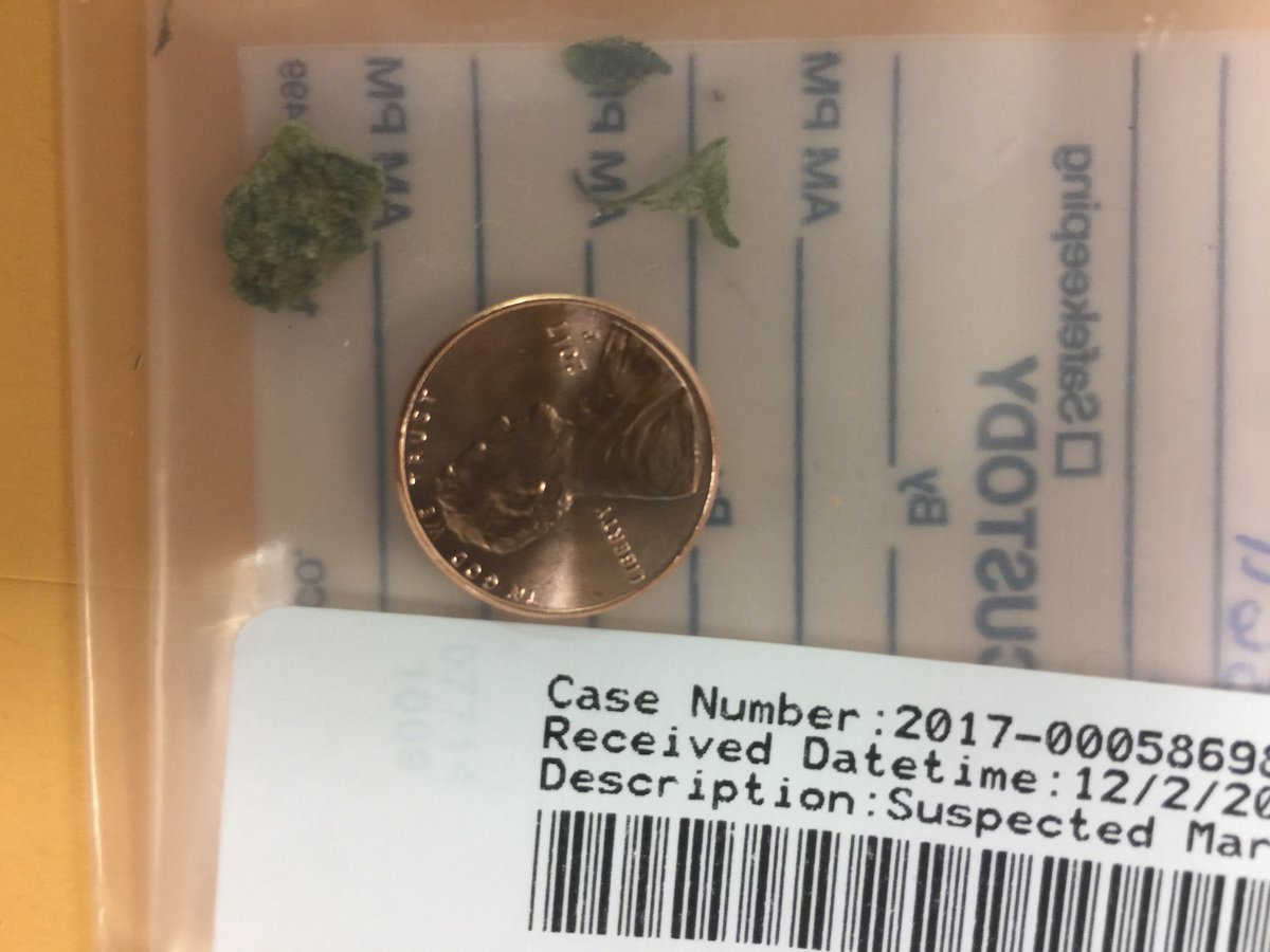 Here's a photo of the pot discovered in Georgia LB Natrez Patrick's seat, which led to his arrest on Dec. 3 https://t.co/STPMn27ULK