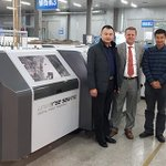 Image for the Tweet beginning: Hucais Printing boosts high quality