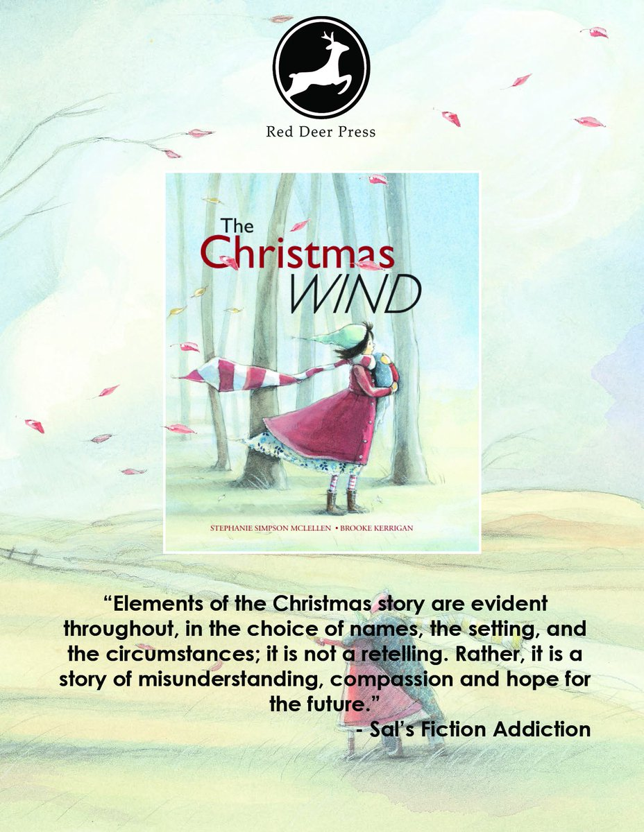 Red Deer Press On Twitter Sals Fiction Addiction Gave Christmas Wind A Great Review Check It Out Tco FeK86Lte9m StephanieMcLe Zerrigan