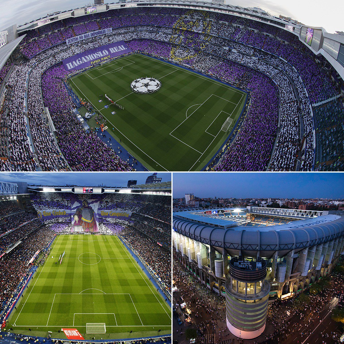 Iconic 😍  70 years ago today, @realmadrid's Bernabeu Stadium opened its doors for the first time