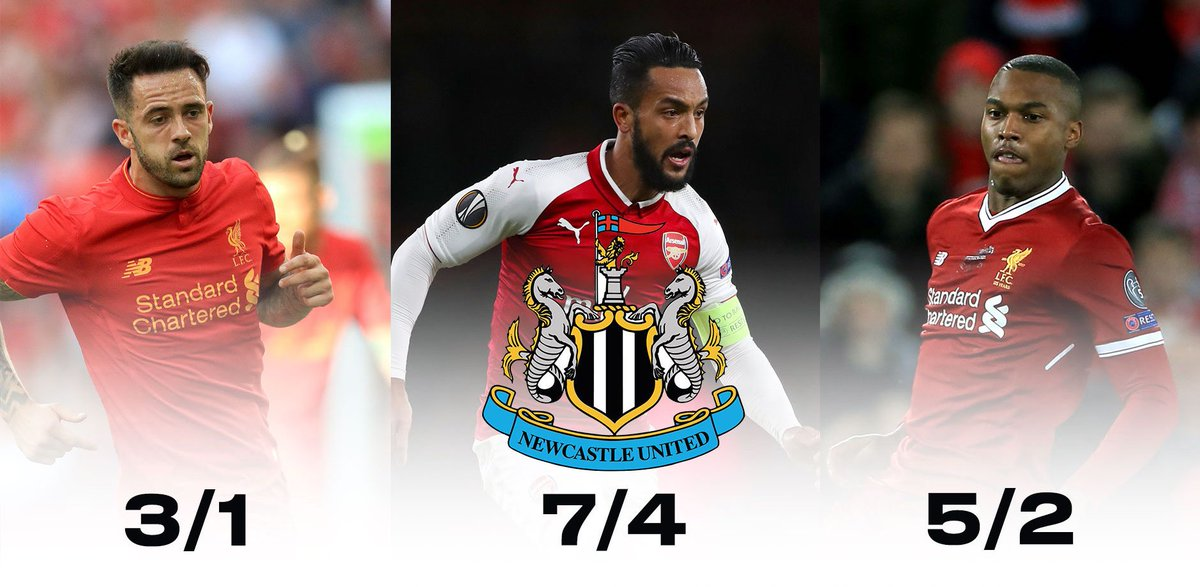 It's no secret that Newcastle are in the market for a striker...   Who will join the Toon?  Bet ➡️ https://t.co/qgdoKAR3L7  #NUFC⚫️⚪️