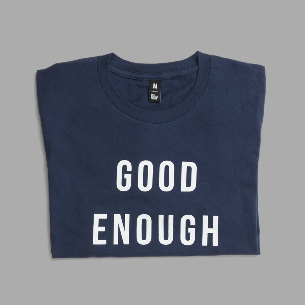 We want so badly to be perfect. We torment ourselves with images of what we're supposed to be like, especially at work and in love. The generous phrase 'good enough' is designed to remind us of the many lesser – yet very real – virtues we already possess: https://t.co/1dlFwkozbp