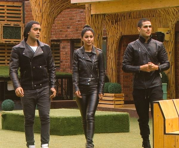 Unity is Strength.. Classy in black   They are GOALS! #Today&#39;s Episode #Biggboss11   Luv-Hina-Pri <br>http://pic.twitter.com/2t3p9Y217V