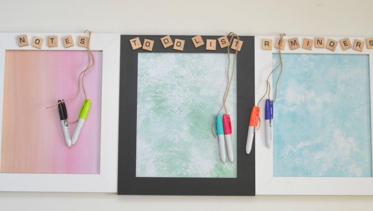 Dry Erase Message Board Picture Frame.  Easy #DIY Teacher Gift for #Christmas  #teachergift #gifts   http://www. buildingourstory.com/2017/12/dry-er ase-message-board-picture-frame.html &nbsp; …  via @censiej <br>http://pic.twitter.com/d781XCjx2A
