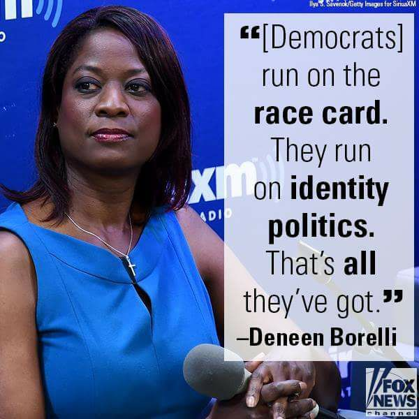 The Democrats Run on the Race Card. They...