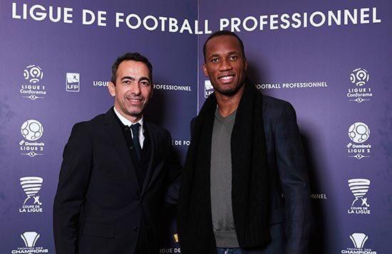 [#LFP🇫🇷] OFFICIEL !  Youri Djorkaeff et Didier Drogba deviennent ambassadeurs de la LFP pour faire connaître le foot français à l'étranger