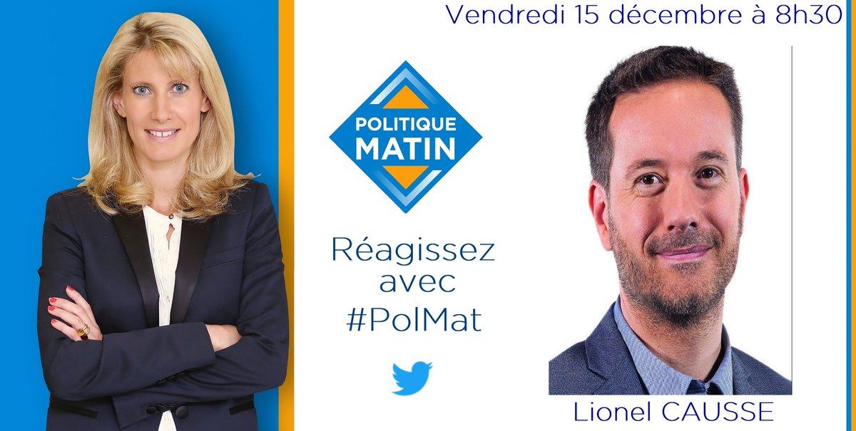 #ConfTerritoires : demain à 8h30, @boucherbrigit recevra @DeputeCausse, député @LaREM_AN, dans #PolMat