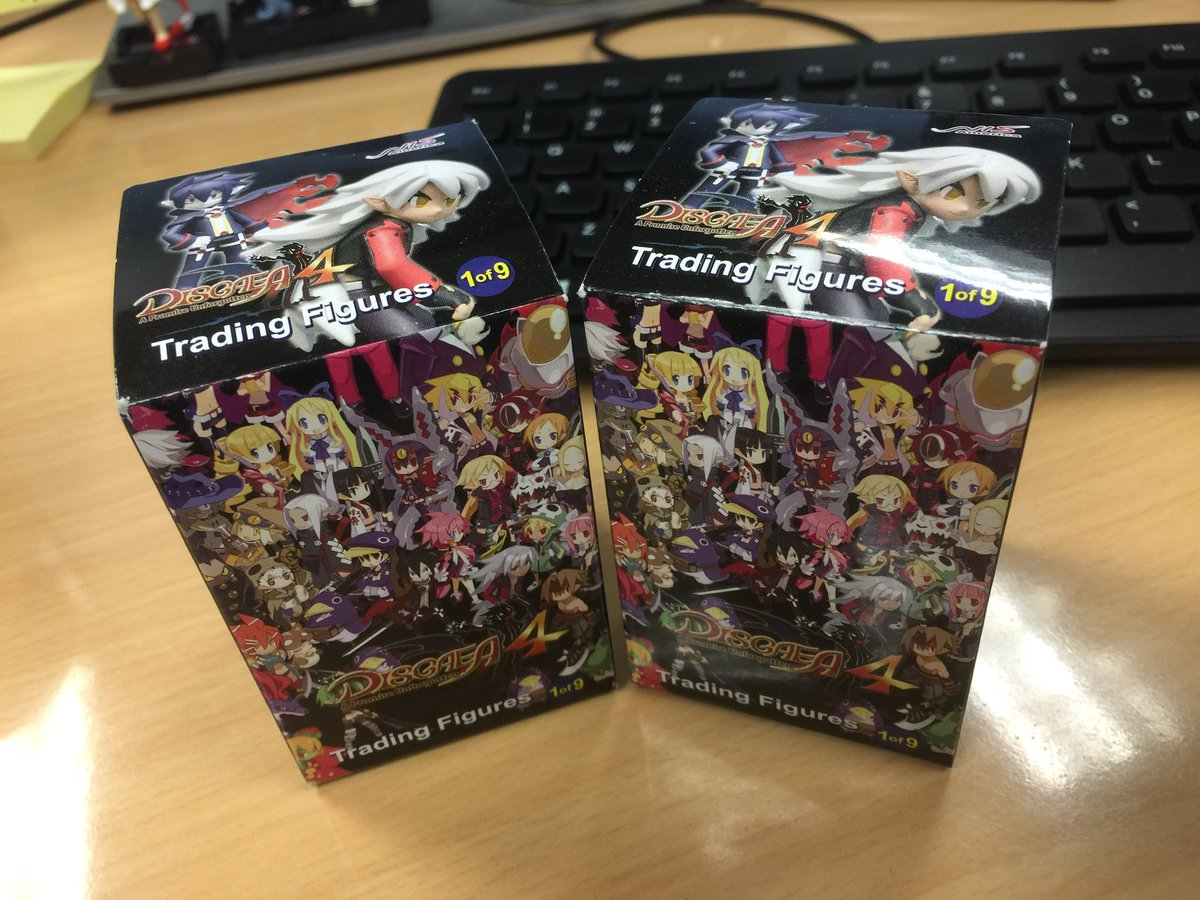 #GIVEAWAY! It's #ThrowbackThursday, so what better way to celebrate than to give away two #Disgaea4 figurines?! Follow us and retweet by Friday (12/15) 6PM PT for your chance to win! One winner chosen from U.S./Canada (excl. Quebec). Good luck!<br>http://pic.twitter.com/HWq39gCgW1