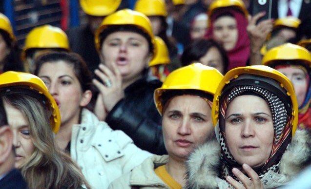 Kadınların eşit işe eşit ücret hakkını a...
