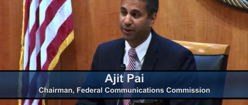 With final #NetNeutrality vote minutes away, FCC Chairman Ajit Pai lists all the ways he's used the internet recently, including FaceTime — failing to mention AT&T once blocked FaceTime before current net neutrality regulations were put in place https://t.co/WawVCjyvrN