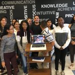 """The @LWTechCollege Founders with @dorieclark via Zoom. """"She was lit!"""" I think that's a good thing :) #Entrepreneurship"""