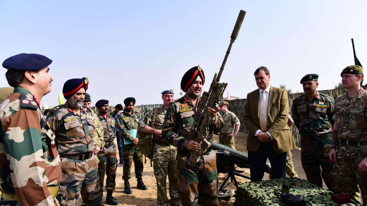 Ajeya Warrior 2017: Indo-UK joint military exercise ends in Rajasthan  https://t.co/FBh3cAAHPz