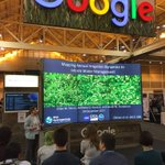 @JillDeines highlights her use of @googleearth engine to create Annual Irrigation Maps on the High Plains here at #AGU17!
