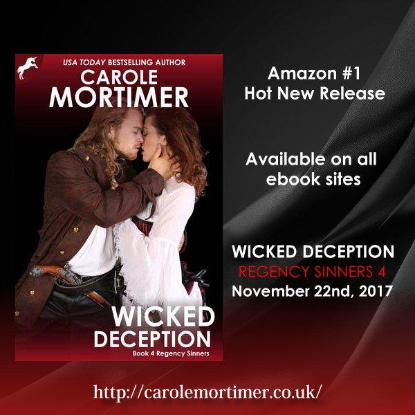 #BookBoost #Regency #Romance #IARTG #EARTG #ASMSG #spub #IAN1  #NewRelease Dangerous Hero. Strong Heroine. Smuggling #Cornwall   https://www. amazon.com/Wicked-Decepti on-Regency-Sinners-4-ebook/dp/B0753L1LM3/ref=sr_1_3?s=digital-text&amp;ie=UTF8&amp;qid=1513081871&amp;sr=1-3&amp;keywords=carole+mortimer &nbsp; …   https://www. amazon.co.uk/Wicked-Decepti on-Regency-Sinners-4-ebook/dp/B0753L1LM3/ref=sr_1_1?s=digital-text&amp;ie=UTF8&amp;qid=1513101824&amp;sr=1-1&amp;keywords=carole+mortimer &nbsp; … <br>http://pic.twitter.com/ol28n2ySl2