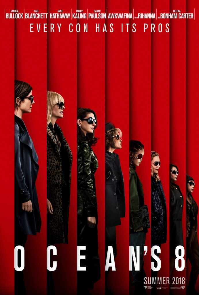 Meet the new guys. #Oceans8 is in theaters June 2018. https://t.co/4a9sb0NkL0