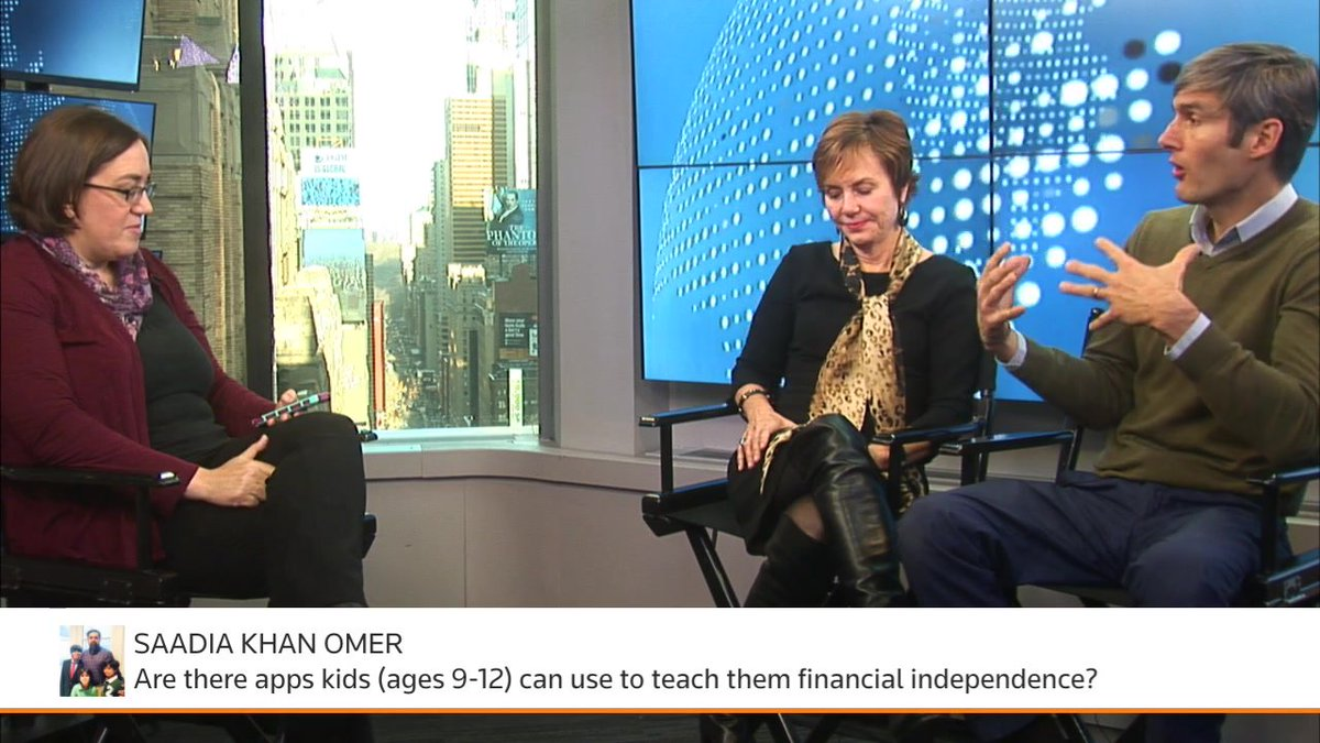 All the things you don't learn in school. We're #facebooklive discussing raising your children to be financially literate with @CarrieSchwab, of @CharlesSchwab, and @CharlesBest, CEO and founder of @DonorsChoose. https://t.co/OzTuF6KNi5
