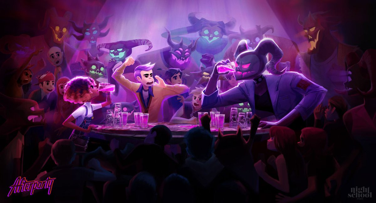 Dead college kids drink with Satan in the next game from the Oxenfree folks: https://t.co/2nZgYpzfMR