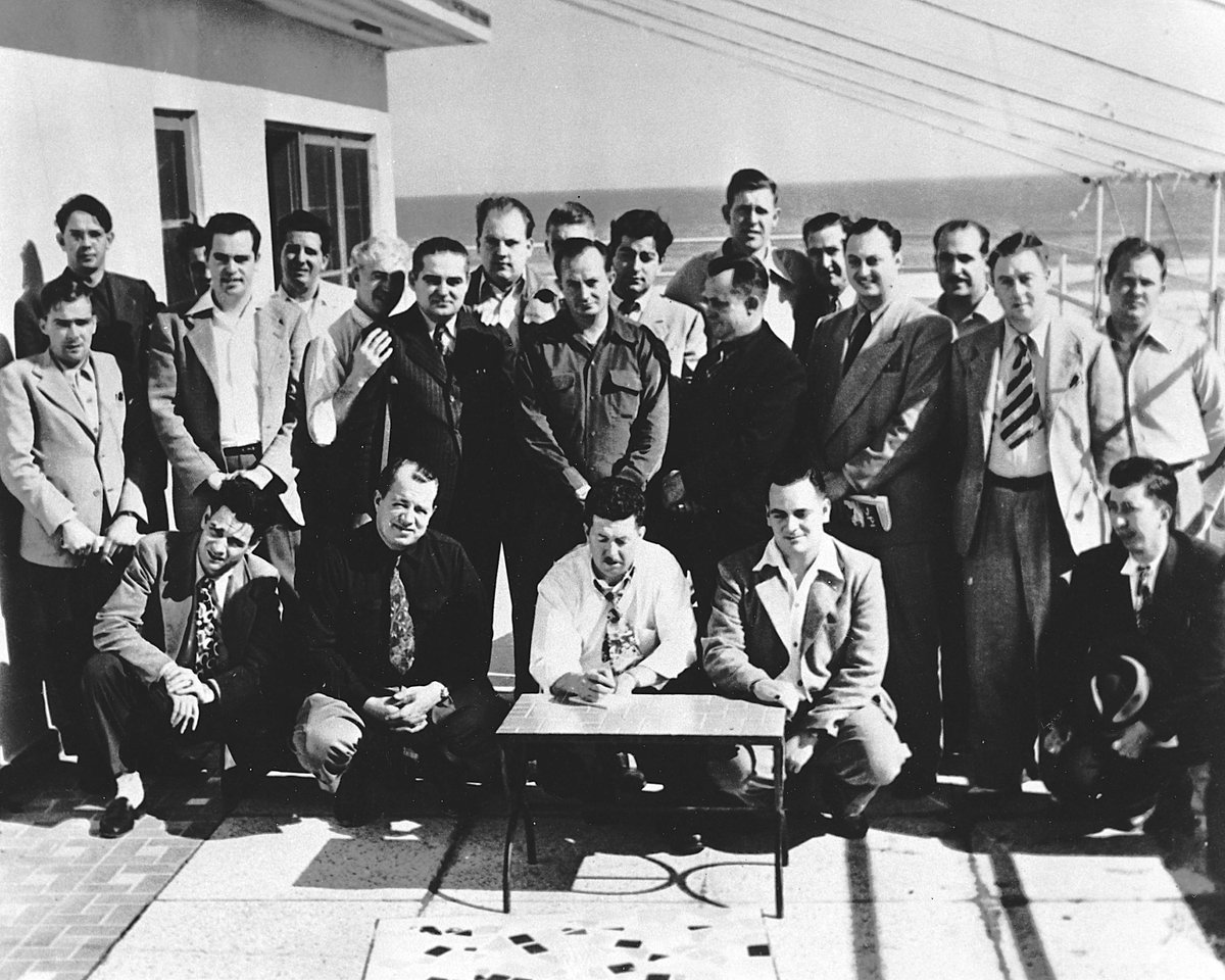 Happy 70th Birthday @NASCAR! 🎉  It all started 70 years ago to the day when Bill France Sr. organized a meeting at the @StreamlineHotel in Daytona Beach! #tbt
