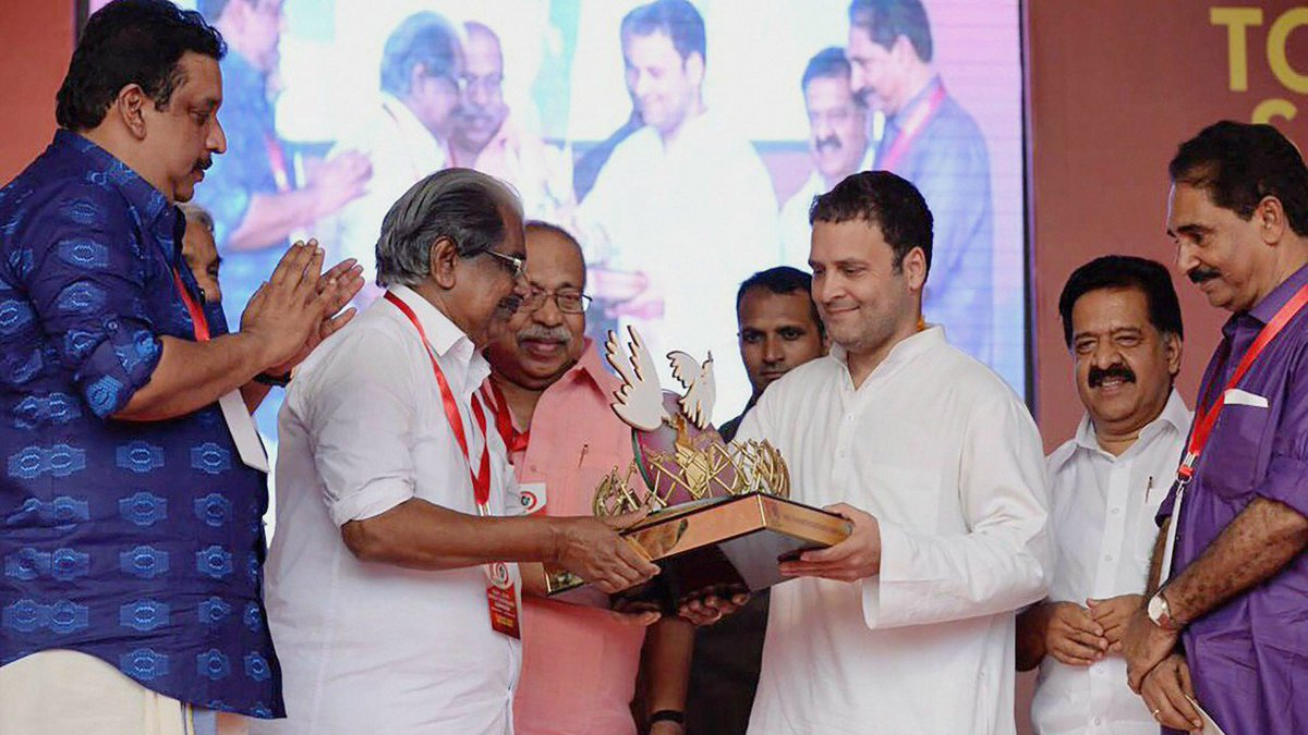 In Kerala, Rahul Gandhi nudges Left to join 'fight against BJP'  https://t.co/5ciMCTJnmY