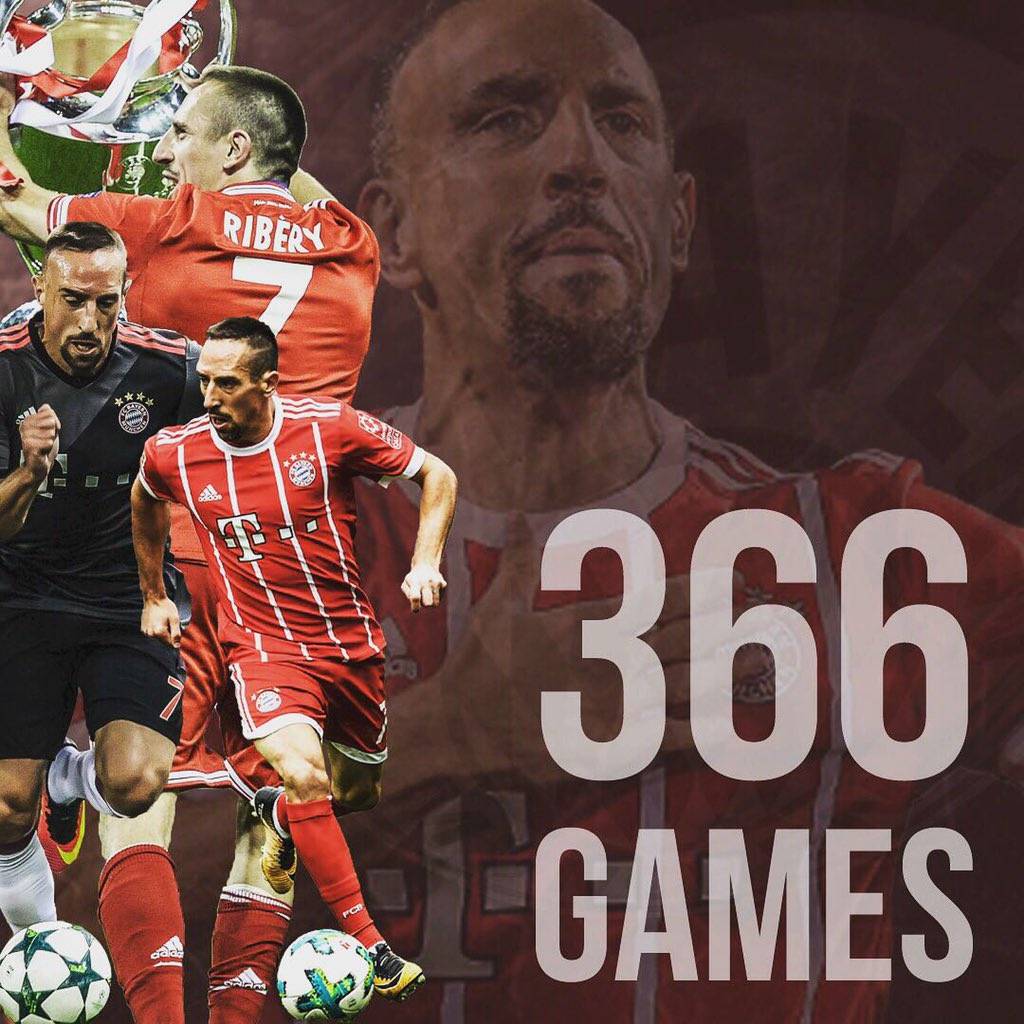 366 games for @fcbayern 🙌🏼 Countless mem...