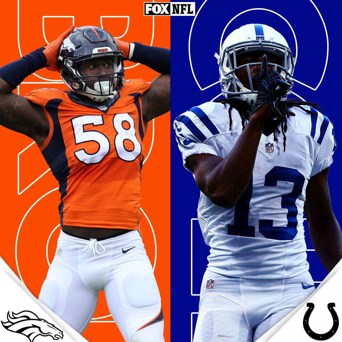 Thursday Night Football kicks off with an AFC battle. Who ya got? - @Colts  - @Broncos