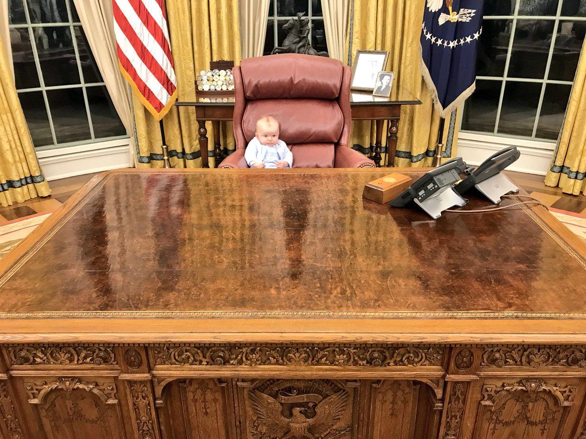 RT @EricTrump: Little Luke is working hard to #MakeAmericaGreatAgain 🇺🇸 https://t.co/9Ckh779f44