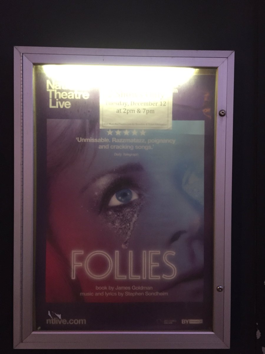 Here&#39;s a follies drinking game: drink every time they drink. You&#39;ll be in tears by &quot;losing my mind&quot; #follies <br>http://pic.twitter.com/3Ss9sK8Mee
