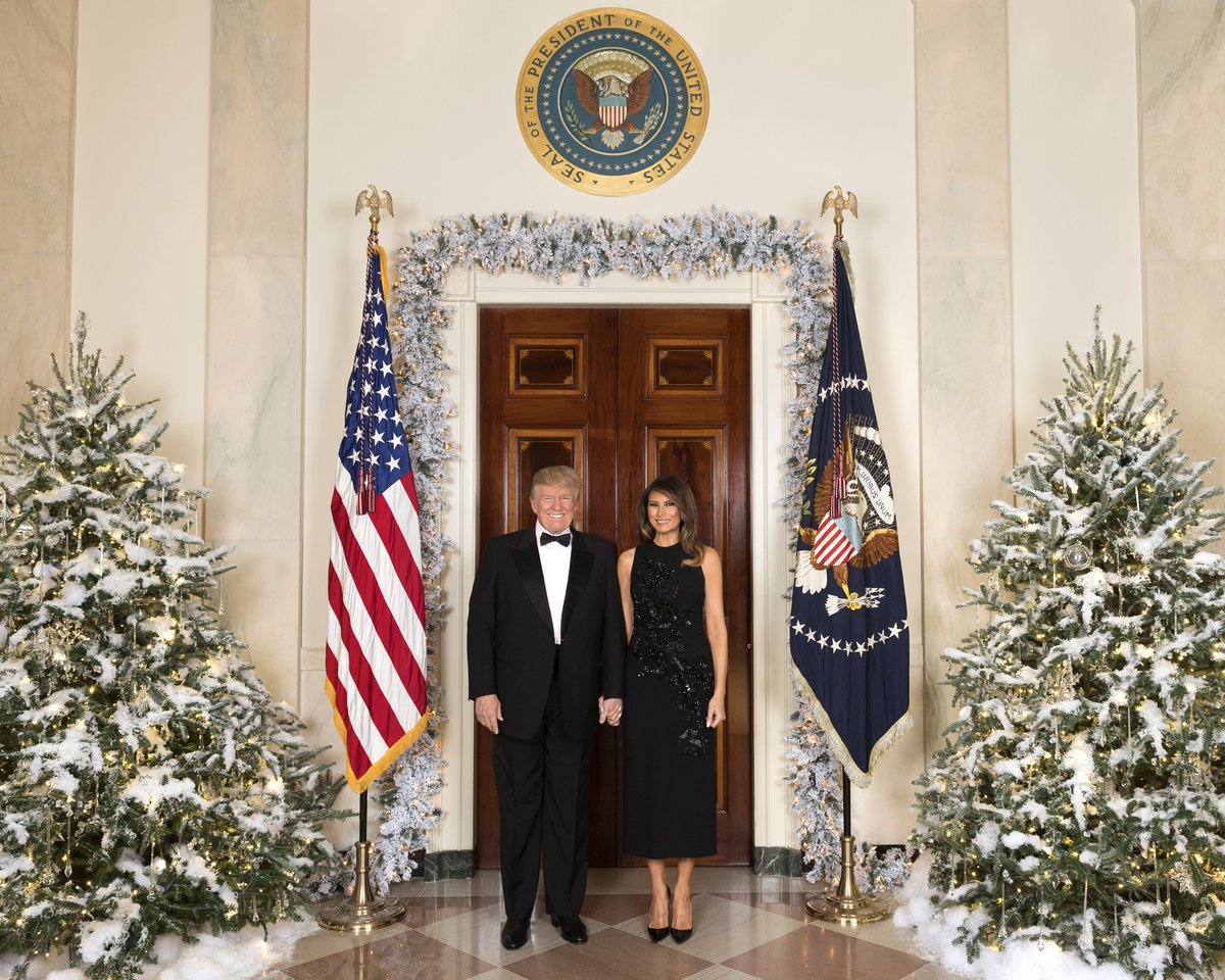 RT @MSNBC: Trumps and Pences release official Christmas portraits https://t.co/rgeOThhlDy