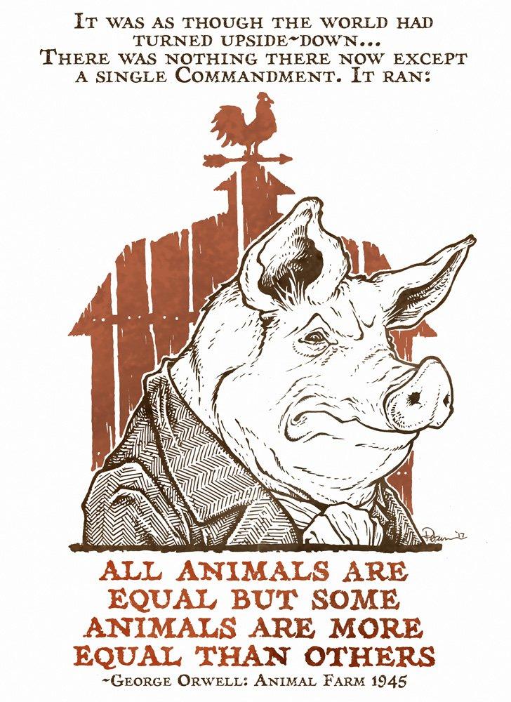 Animal pdf orwell farm