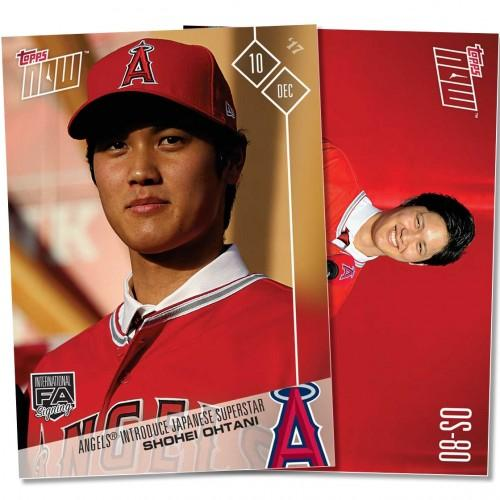 Want the first @Topps card of Shohei Ohtani in an @Angels uniform? Now's your chance. https://t.co/SCQv4jYhJf