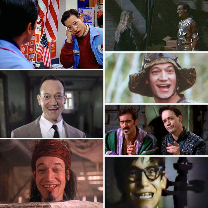 A very happy birthday and many more to cool guy Ted Raimi!