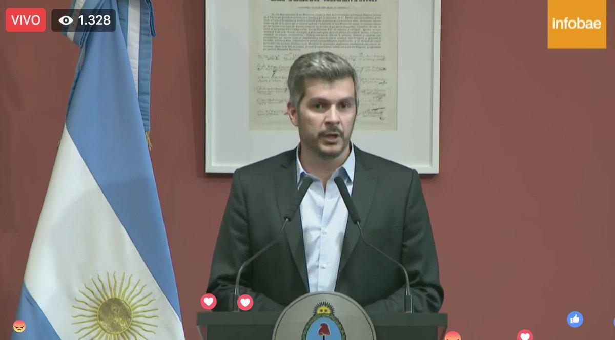 AHORA | Marcos Peña: 'Vimos algo que nunca había pasado: legisladores se convirtieron en piqueteros dentro de la sesión' https://t.co/Ek86tgJyr1