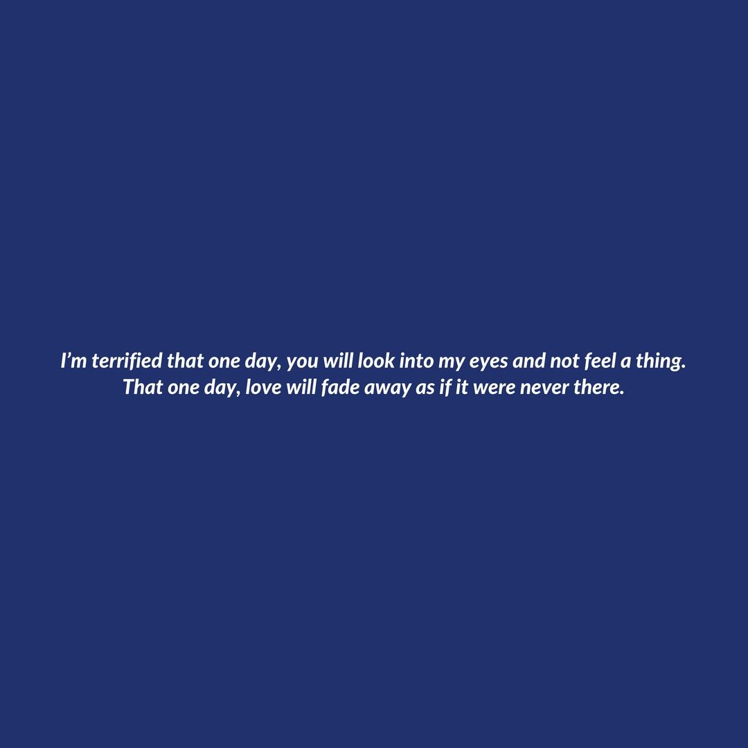 This is exactly what it's like to be in love, but to not feel worthy of it.  https://t.co/2o7FbIZM8k