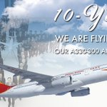 We are delighted to announce our 10-year anniversary flying Airbus 330-300! #FlyHainan #AvGeek #Aviation #Airbus #Airline #Birthday