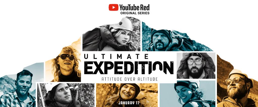 It's the climb of a lifetime. Watch #UltimateExpeditionShow, coming soon to YouTube Red! goo.gl/E7Z4mA