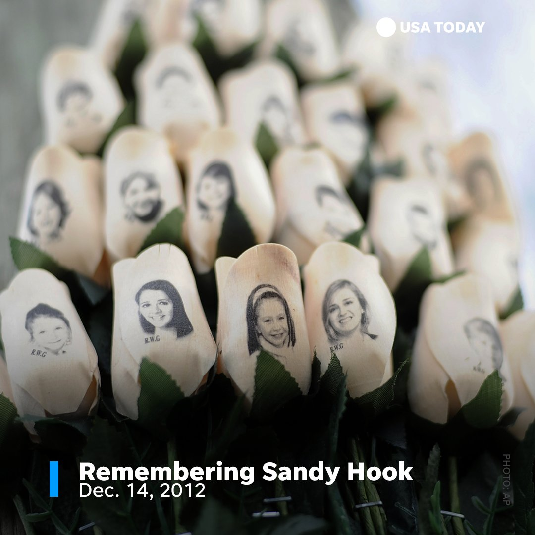 Today marks five years since the Sandy Hook Elementary School shooting. https://t.co/M4STaOKTay