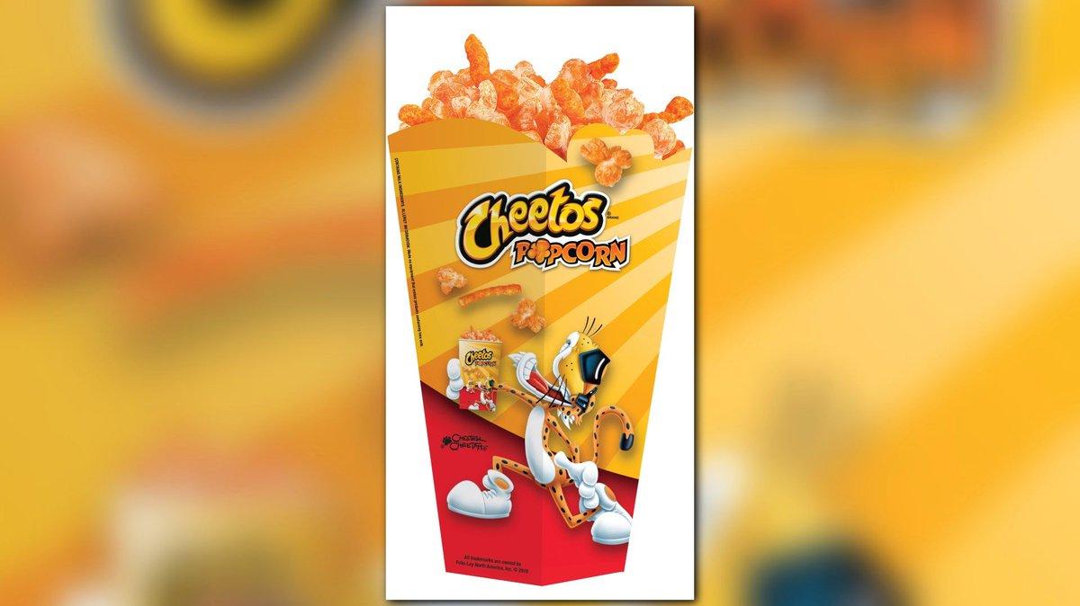'Cheetos Popcorn' coming to Regal Cinemas https://t.co/HGyacpakqF