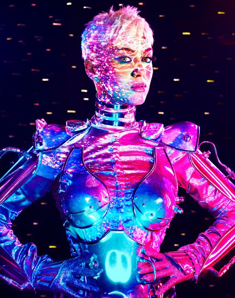 Katy Perry photographed by David LaChape...