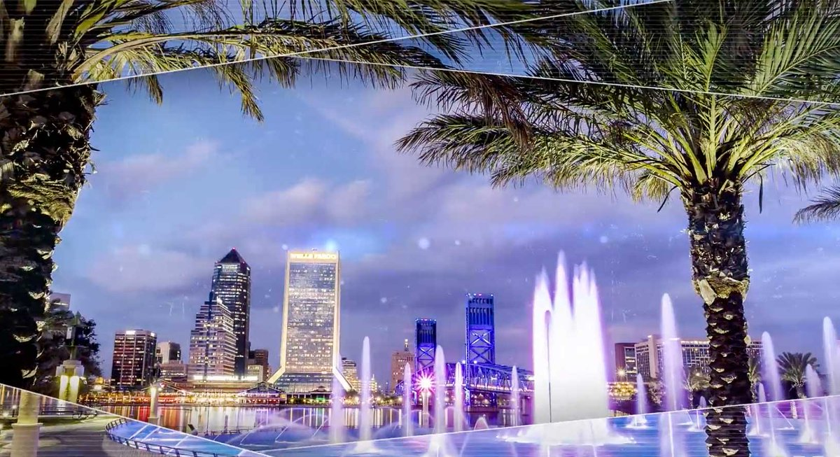 RENDERINGS: What #Jacksonville might look like if they land #AmazonHQ2 #Amazon #Florida https://t.co/fkBAaxn8eY