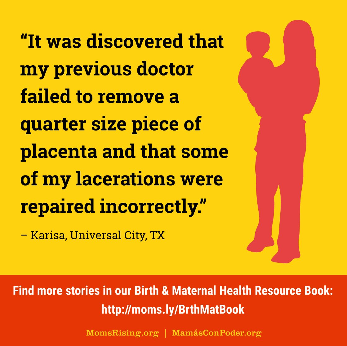 Maternal mortality rates in the U.S. have more than doubled in just the past ten years. We are excited to launch our BRAND NEW Birth & Maternal Health Resource Book, check it out to learn the facts and fight for ! #MaternalJusticehttps://t.co/2iZlozJvEt