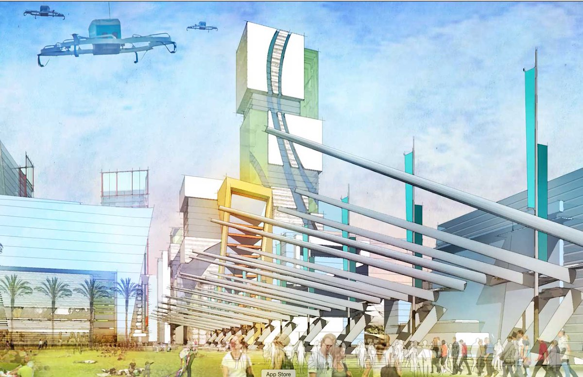 RENDERINGS: What #Jacksonville might look like if they land #AmazonHQ2 #Amazon #Florida https://t.co/fkBAaxEJ6w