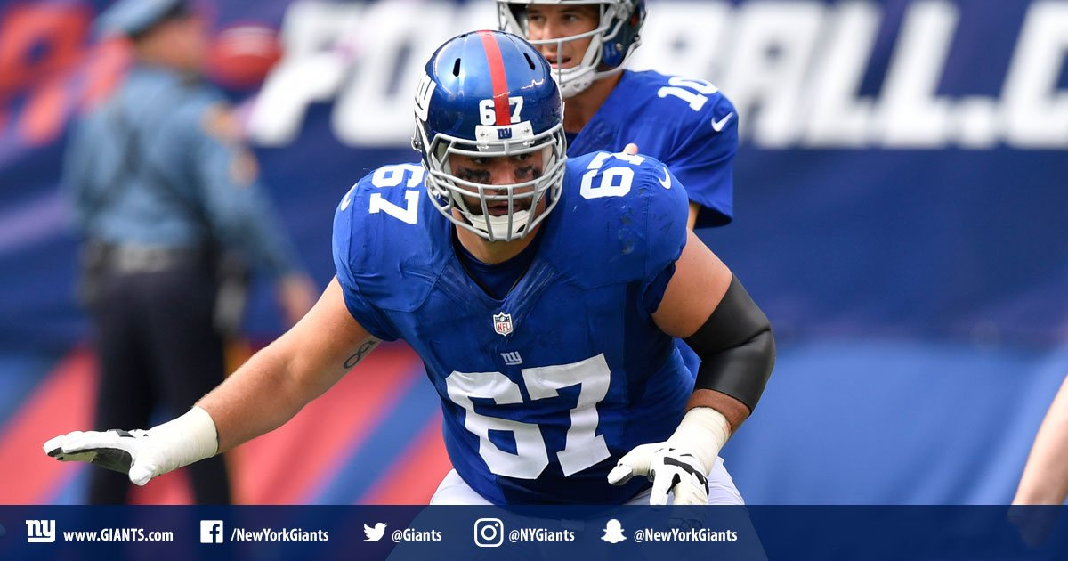 #Giants will place OL Justin Pugh on injured reserve with a back injury.  DETAILS: https://t.co/xXAk4WvSq4