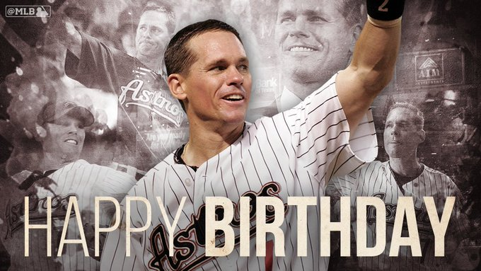 Happy birthday to 7-time All-Star and member of the baseballhall, Craig Biggio.