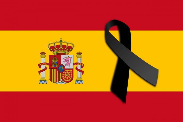 Nuestro cariño, apoyo y un sentido abrazo a las familias, amigos y compañeros de los dos @guardiacivil asesinados en Teruel cuando realizaban su trabajo por la seguridad de todos. DEP