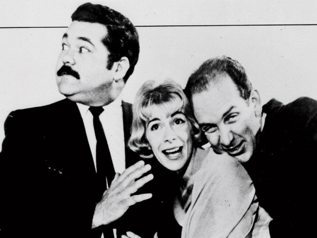 #TBT from @MelRivers: Mom in the early days of her career…with Avery Schreiber and Bill Alton at Second City! https://t.co/Qoi2V8vDiN